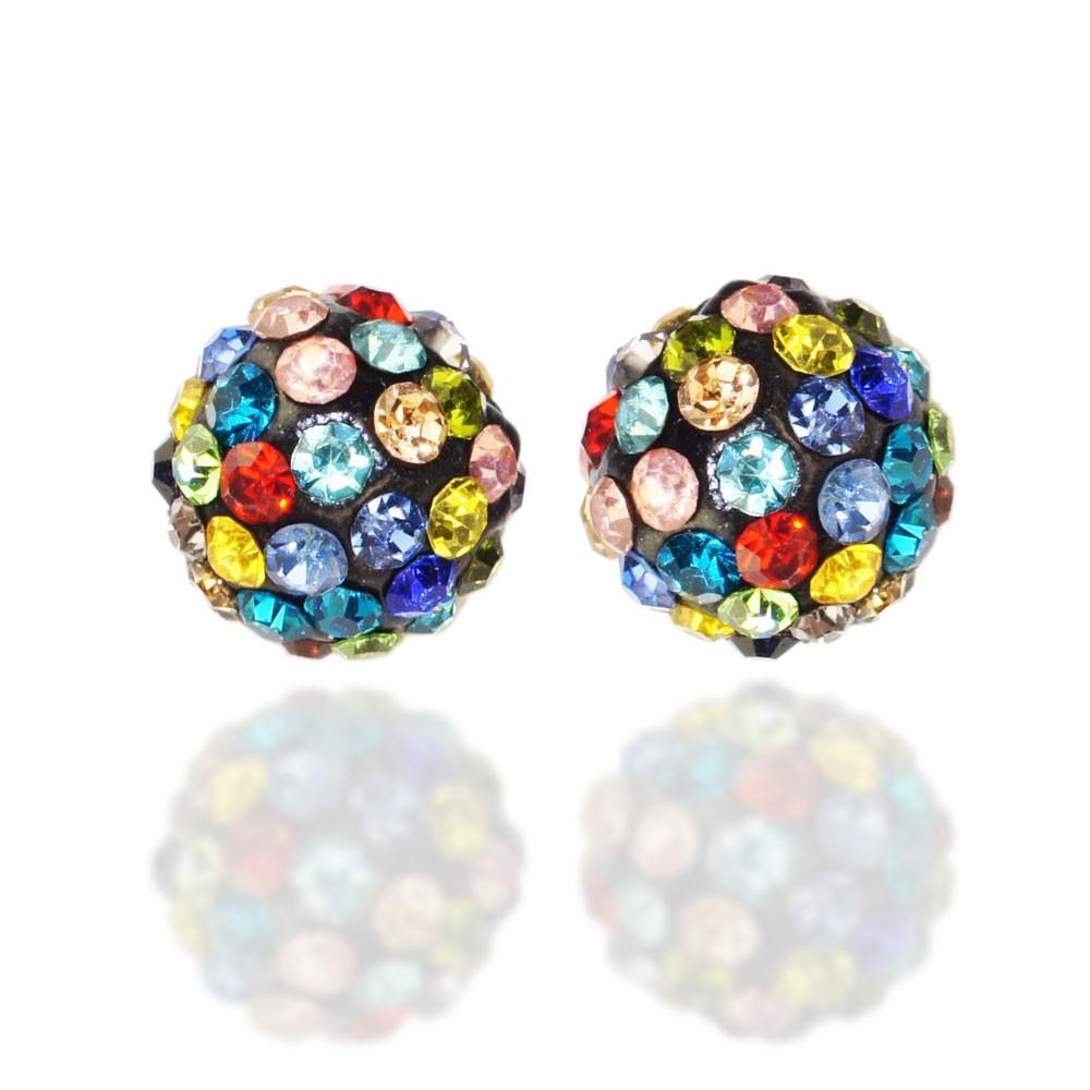 5 beads perlen glitzer disko kugel bead kristallkugel for Kugel laterne basteln