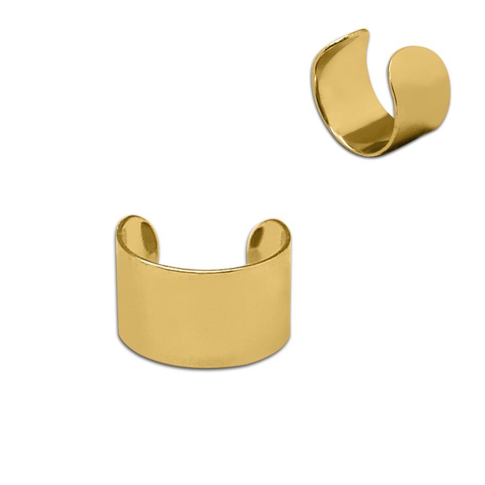eine schicke schlichte einfache ohrklemme ear cuff. Black Bedroom Furniture Sets. Home Design Ideas